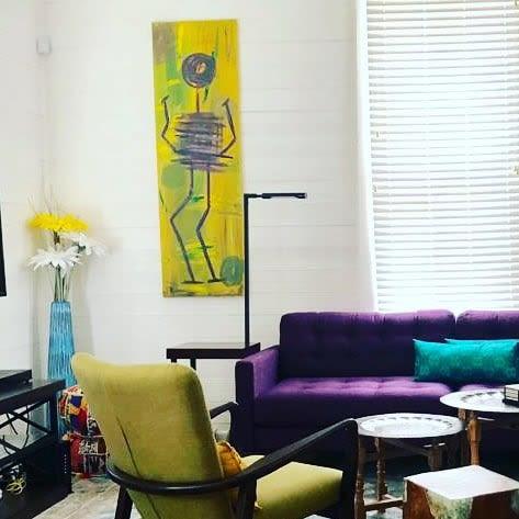 Paintings by NADO seen at Private Residence, Dallas - NADO Art 2