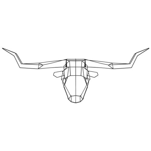 Wall Hangings by Bend Goods - Longhorn Trophy Head