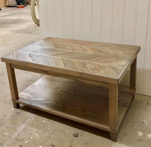 Tables by RAW to Reclaimed Woodworking seen at Private Residence - Matthews, NC, Matthews - Coffee Table