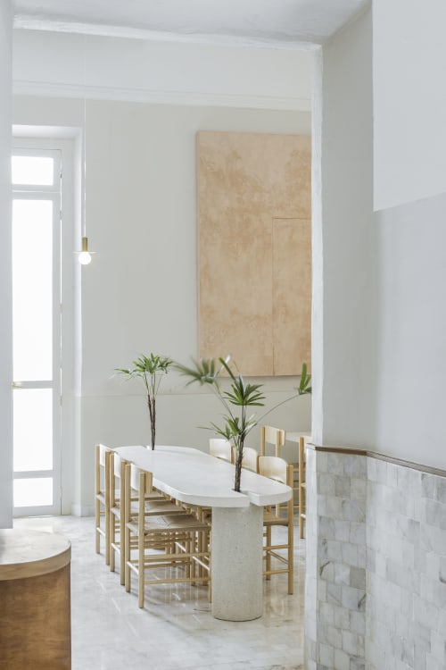 Interior Design by Wewi Studio seen at Guillermina Rest, La Asunción - Guillermina Restaurant