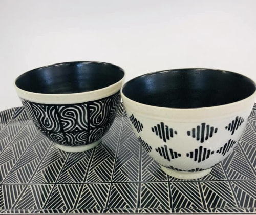 Tableware by Sera Holland seen at Anthony Shapiro Studio (Ceramics), Cape Town - Product design for Ant + Linda COLLECT