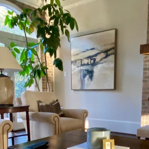 Paintings by Debbie Ezell seen at Private Residence, Atlanta - Common Ground