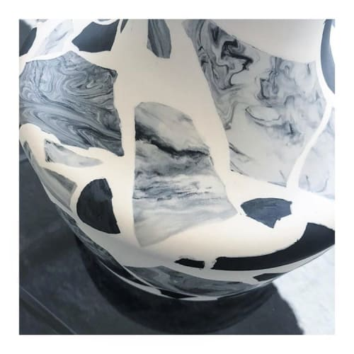 Vases & Vessels by Natascha Madeiski seen at London, London - Terrazzo Monochrome