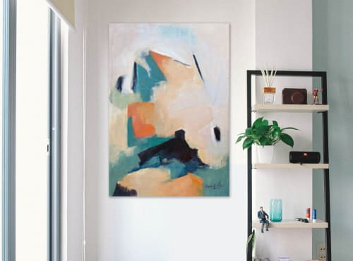 Paintings by Cecilia Arrospide seen at Private Residence, Lima - HORIZONTE