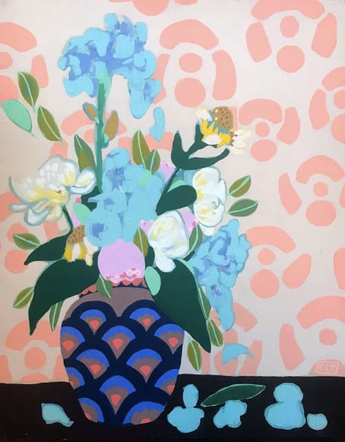 Murals by Christina Persika seen at Private Residence, Wauwatosa - Allow Joy