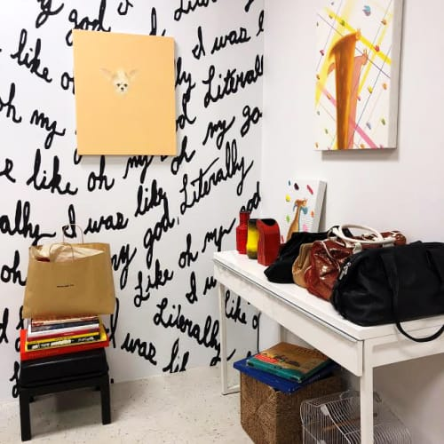 Art Curation by Ryan Michael Ford seen at Meantime Co., Brooklyn - Literally like oh my god