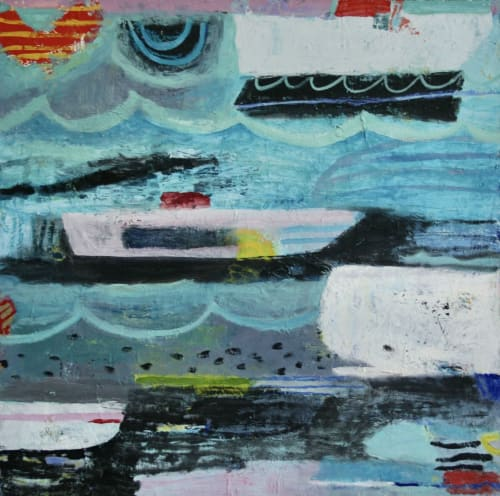 Paintings by Lucy Schappy seen at Private Residence - WHITE WHALE