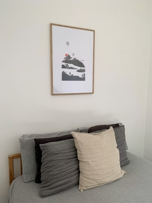 Wall Hangings by Sherrie-Leigh Jones seen at Private Residence, Brighton - The Rising Valley