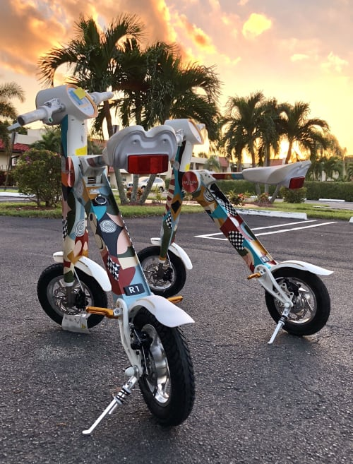 Hardware by Amauri Torezan seen at Whizzy Ride, Llc, Miami Beach - Electric Bikes
