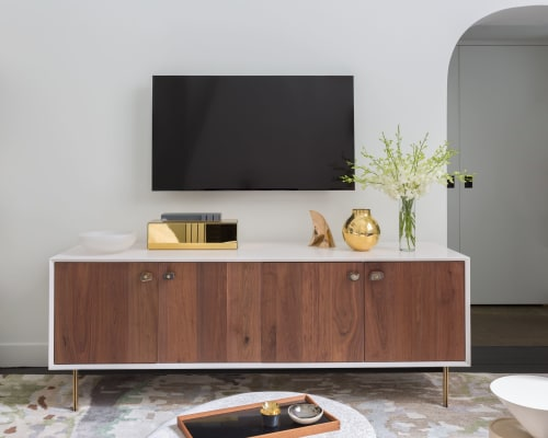 Furniture by Organic Modernism seen at Private Residence, Greenwich Village, New York - Credenza