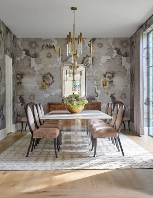 Rugs by Madison Lily Rugs seen at Private Residence, Houston - Cylinder | Atenea Collection
