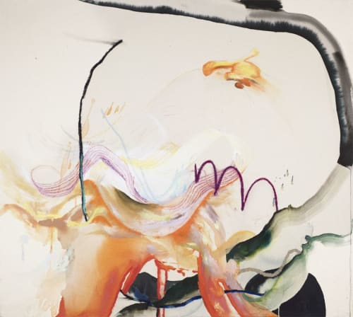 Paintings by Jessica Matier seen at Private Residence, London - AKIN