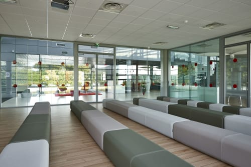Couches & Sofas by Marine Peyre seen at Canon France, Paris - BFLEX