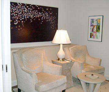 Paintings by Farida Hughes seen at Private Residence, Edina - Commissioned painting | Edina, Minnesota