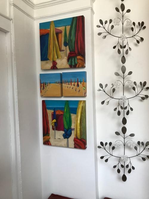 Wall Hangings by Cecilia Arrospide at Private Residence, Miraflores, Comas, Comas - SOMBRILLAS