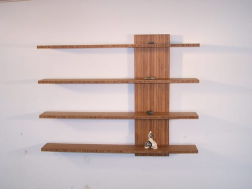 Slippery Shelves   Furniture by Mark Righter - Cambium Studio