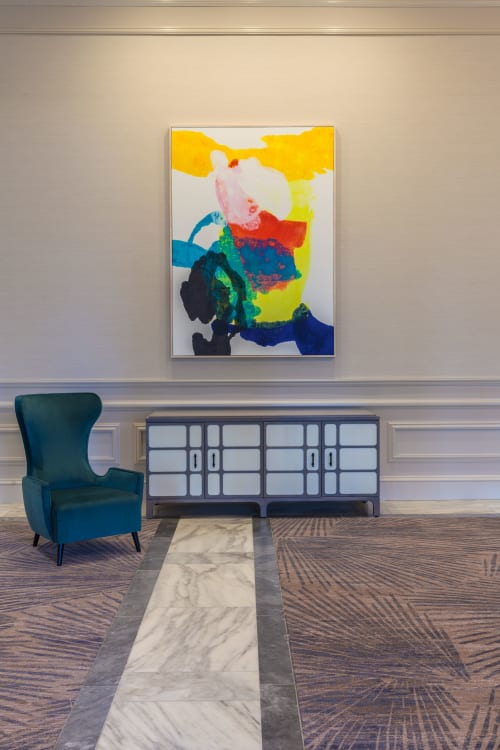 Paintings by Jodi Fuchs seen at JW Marriott Miami Turnberry Resort & Spa, Aventura - Abstract Prints (13 in total)