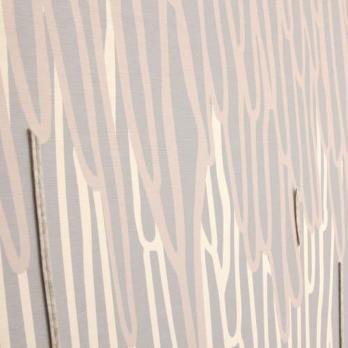 Wallpaper by Jill Malek Wallpaper - Stalactite | Dimensional Felt