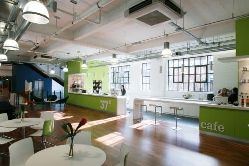 Interior Design by KNOF design seen at Kensington, London - 37 Degrees