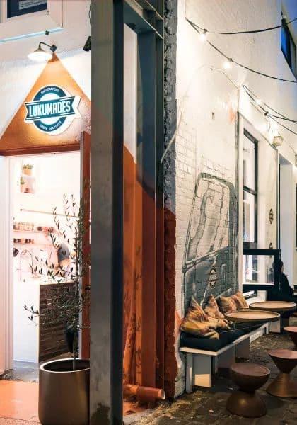 Interior Design by Infinite Design Studio / Michelle Macarounas seen at Lukumades, West Melbourne - Interior Design