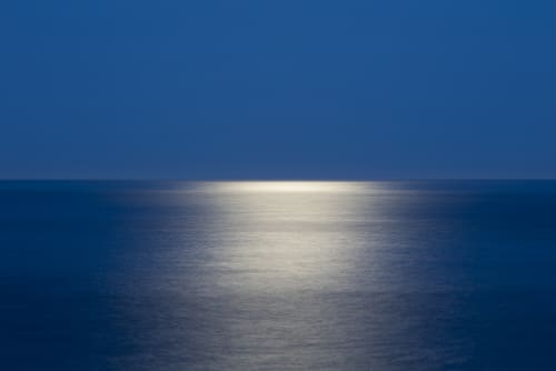 Moon Over Atlantic #9 | Photography by Chris Becker