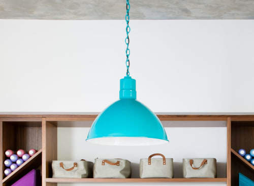 Pendants by Barn Light Electric seen at Private Residence, San Francisco - Wilcox Deep Bowl Chain Hung Pendant