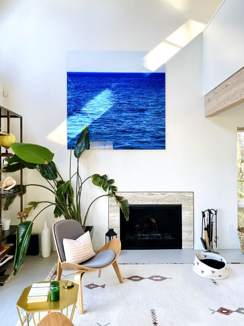 Photography by Jolie Anna Goodson seen at Private Residence, Portland - The Bluest Blue