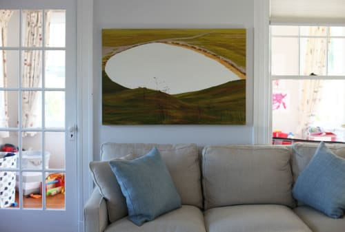 Paintings by Abraham Storer seen at Private Residence, Boston - Watering Hole