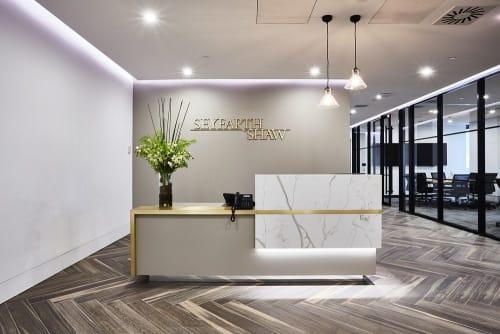 Interior Design by Strutt Studios seen at Seyfarth Shaw, Sydney - Law Office Project