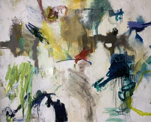 Paintings by Rhenda Saporito seen at 764 Miami Cir NE, Atlanta - Cigars on the Beach #9