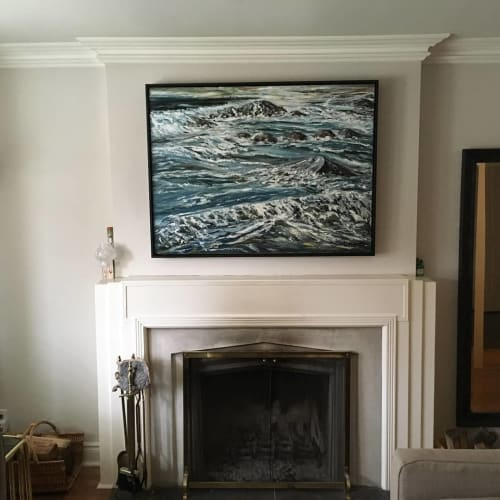 """Paintings by Darlene J. Winfield seen at Private Residence, Toronto - """"Palmer Connection"""""""