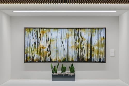 Paintings by Tania Dibbs seen at The Coloradan, Denver - Tania Dibbs