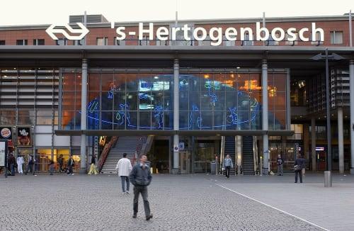 Lighting by Titia Ex seen at 's-Hertogenbosch, 's-Hertogenbosch - Waltz Station Den Bosch