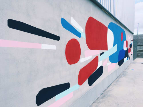 Art Curation by Kiro seen at Private Residence, Barcelona - Mural for school