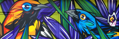 """Fernando Garroux """"Garu"""" - Murals and Paintings"""
