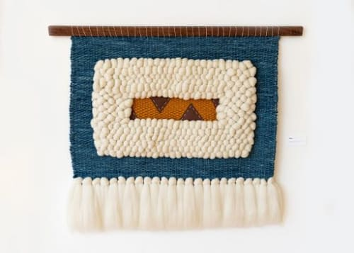 Wall Hangings by Keyaiira | leather + fiber - by Keyaira Terry seen at Private Residence, Sebastopol - Lola