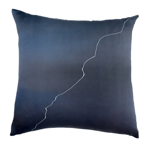 Pillows by Marie Burgos Design at Garden Street Brownstone, Hoboken - Yin & Yang Pillow