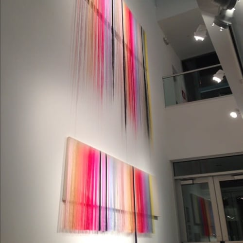 Macrame Wall Hanging by Nike Schroeder Studio seen at Private Residence, Los Angeles - MOAH Installation