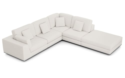 Couches & Sofas by Modloft seen at North Miami, North Miami - Modloft Perry Sectional