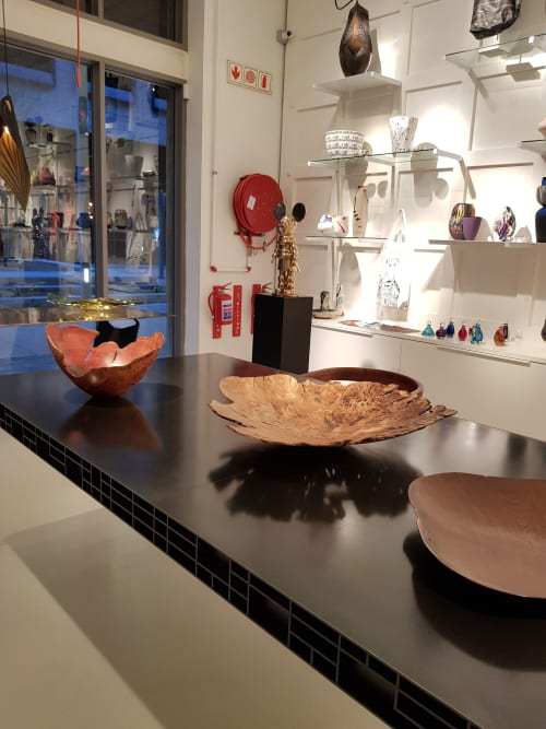 Art & Wall Decor by Rodney Band seen at Southern Guild, Cape Town - Hand-Turned Wooden Platter