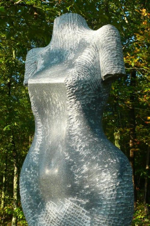 Public Sculptures by Jon Barlow Hudson / Hudson Sculpture llc. seen at Andres Institute of Art, Brookline - ETRUSCAN MAENAD : MOTHER BEAR