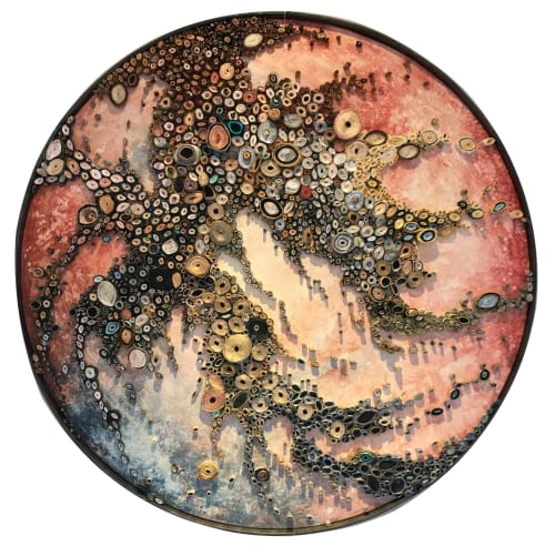 Art & Wall Decor by Amy Genser Studio at Delamar West Hartford, West Hartford - Lunar Spawn