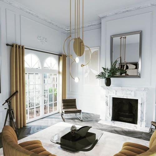 Interior Design by Ovature Studios seen at Private Residence, Paris - Paris Apartment