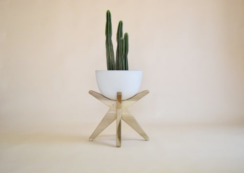 Vases & Vessels by Casa Botanica Design seen at Private Residence, Phoenix - The Cortez XL with Stand