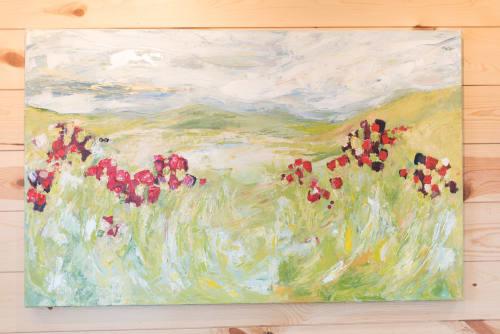 Paintings by Jillian Webb Herrmann   JWebb Fine Art seen at Private Residence, Indian Trail - Love in Abundance