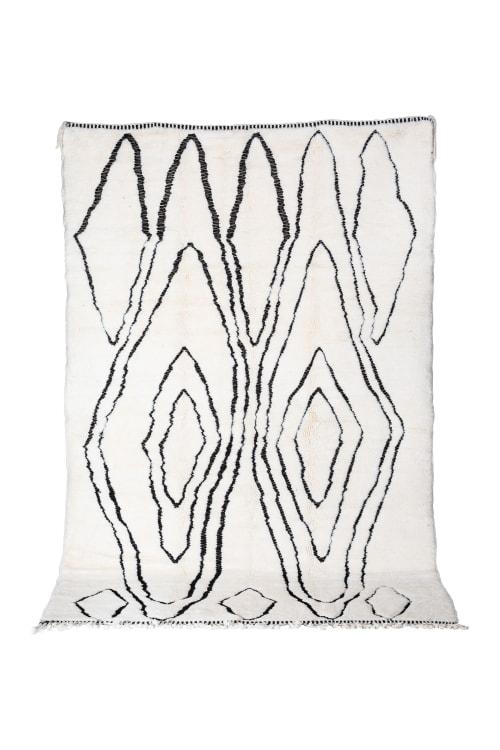 Contemporary Beni Ourain Moroccan Rug | Rugs by Kechmara Designs
