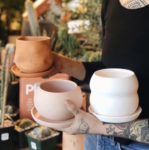 Vases & Vessels by Katie Troisi seen at The Victorian Atlanta, Atlanta - Raw Planter