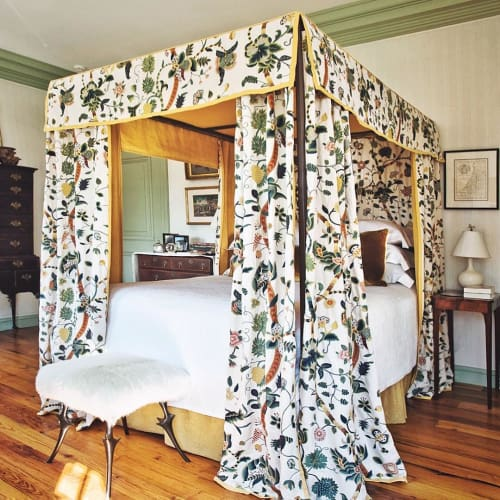 Curtains & Drapes by Chelsea Textiles seen at Private Residence - Garden of Eden