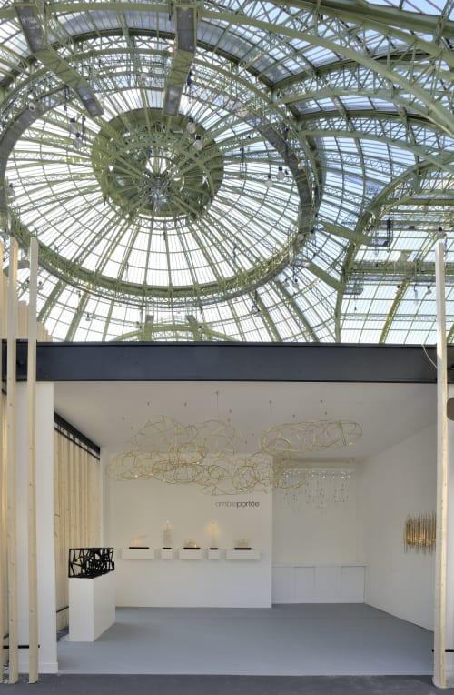 Chandeliers by Ombre Portée seen at Grand Palais, Paris - Honoré