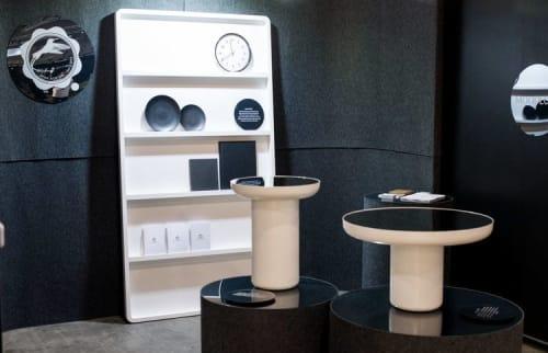 Furniture by Dean Norton seen at Melbourne Exhibition Centre, South Wharf - Moodlum Gallery Den Fair 2018